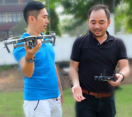 Menerbangkan Drone Mavic Pro – Basic Privat Class drone