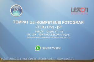 sertifikasi photographer