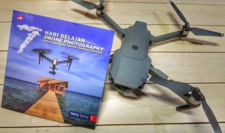 Buku Drone terbaru – 7 HARI BELAJAR DRONE PHOTOGRAPHY oleh Herry Tjiang