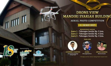 MANDIRI SYARIAH BUILDING AERIAL PHOTO COMPETITION