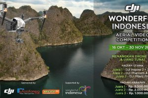 wonderful indonesia – drone competition