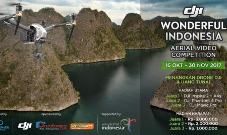 DJI Wonderful Indonesia – Drone competition