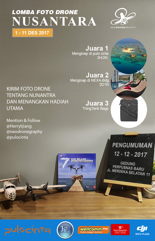 Lomba foto drone Nusantara