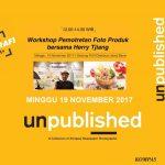 Workshop product di Unpublished Kompas – Bandung bersama Herry tjiang