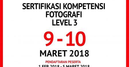 SERTIFIKASI FOTOGRAFER