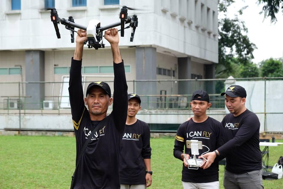 kursus drone terkenal