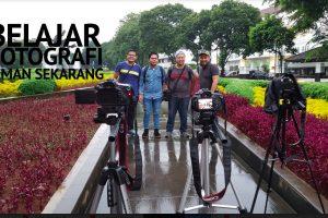 BELAJAR FOTOGRAFI JAMAN SEKARANG