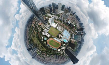 Tutorial memotret unik dengan drone – 360 derajat