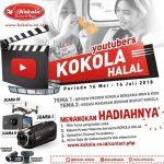 Kontes Youtube Kokola Halal Berhadiah Drone, Kamera dan Camcorder