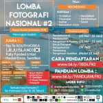 LOMBA FOTOGRAFI NASIONAL EVENT HUNTER INDONESIA
