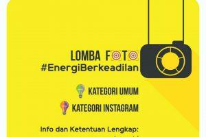 lomba foto energi berkeadilan