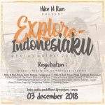 EXPLORE INDONESIA PHOTO CONTEST 2018