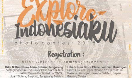 EXPLORE INDONESIA PHOTO CONTEST 2018