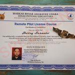Sertifikasi Remote Pilot drone FASI (Federasi Aero Sport Indonesia)