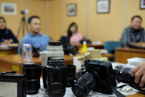 sekolah fotografi segala jenis kamera