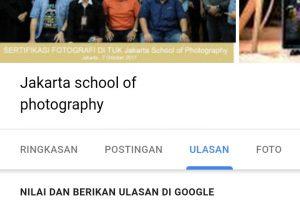 ulasan siswa sekolah fotografi