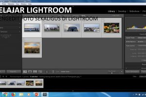 belajar edit foto sekaligus