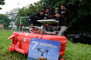 belajar drone di jakarta