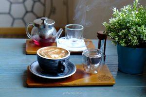 cara memotret asap kopi
