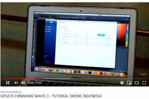 mengupdate firmware terbaru dji mavic 2