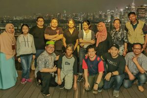 Hunting bareng cityscape