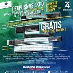 PERPUSNAS EXPO  2019 – BERBAGI PENGETAHUAN UNTUK KESEJAHTERAAN