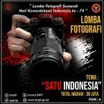 Lomba Foto Satu Indonesia 2019