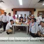 Workshop Food Photography Smartphone Kementrian Sekretariat Negara RI