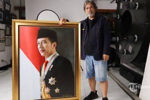 Cerita Darwis di balik foto Bapak Presiden