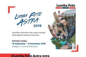 Lomba foto astra 2019