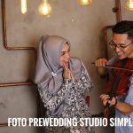 Foto Prewedding Studio Simple