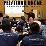 Pelatihan Drone Kementrian Perhubungan