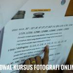 Jadwal Kursus Fotografi Online