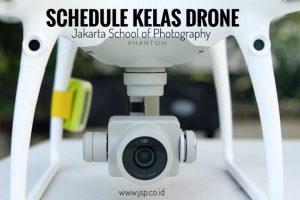 Schedule kelas drone jakarta school of photography