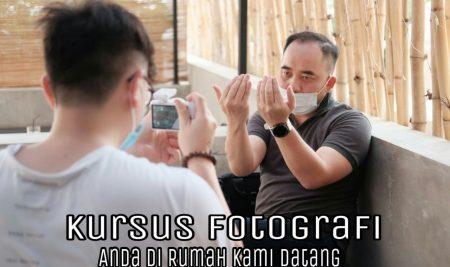Kursus Fotografi Anda Di Rumah Kami Datang