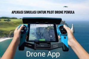Aplikasi simulator untuk pilot drone pemula