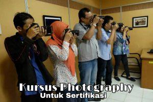 Kursus fotografi untuk sertifikasi