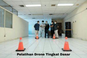 Pelatihan drone tingkat dasar