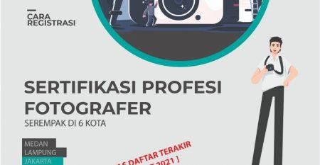 sertifikasi profesi fotografer di jakarta