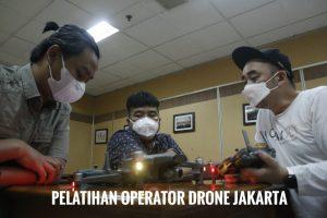 Pelatihan operator drone jakarta