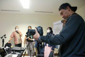 pelatihan videografi untuk kementrian pertanian